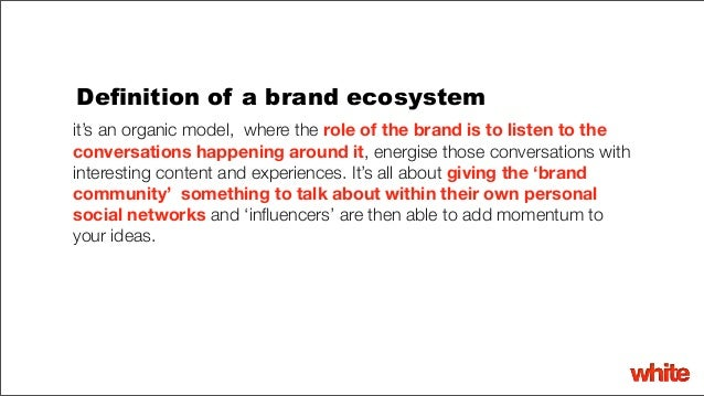 What Does The Brand Ecosystem Mean For Digital Strategy