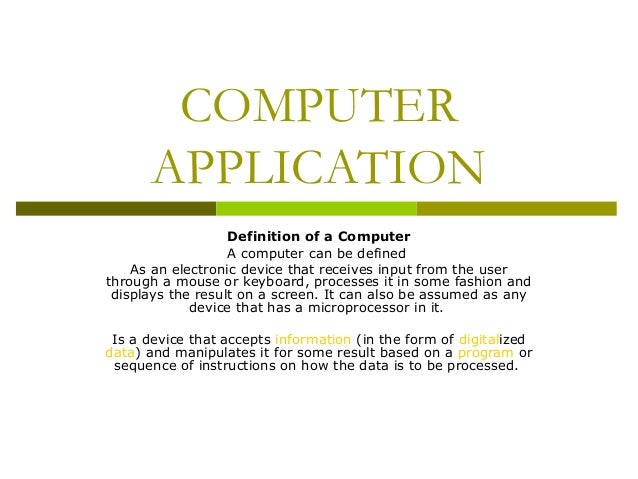 personal computer and application software d Software is a program that enables a computer to perform a specific task, as opposed to the physical components of the system (hardware) this includes application software such as a word .
