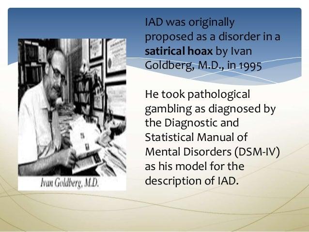 Pathological gambling mental illness