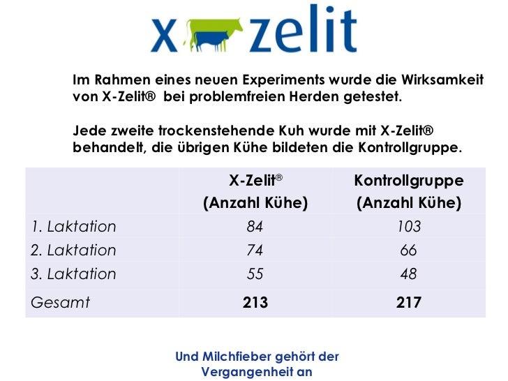 Im Rahmen eines neuen Experiments wurde die Wirksamkeit     von X-Zelit® bei problemfreien Herden getestet.     Jede zweit...