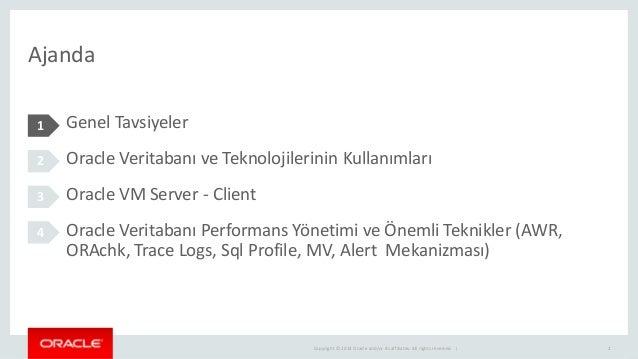 Oracle veritabanı yonetiminde onemli teknikler Slide 2