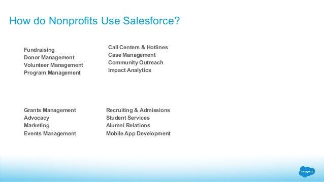 Pro Bono Volunteering with Salesforce Nonprofit Customers