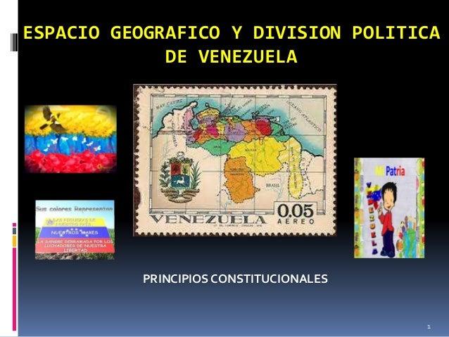 Espacios Geograficos Politicos