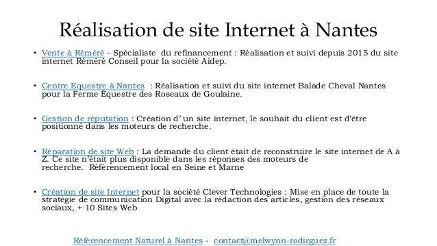Agence Web Nantes : Référencement de site Internet Slide 2