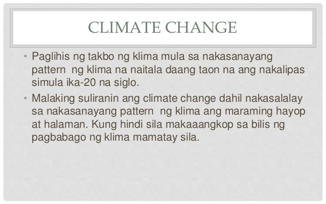 bakit may climate change Climate change and climate prediction read science articles on regional climates and global climate shifts updated daily.