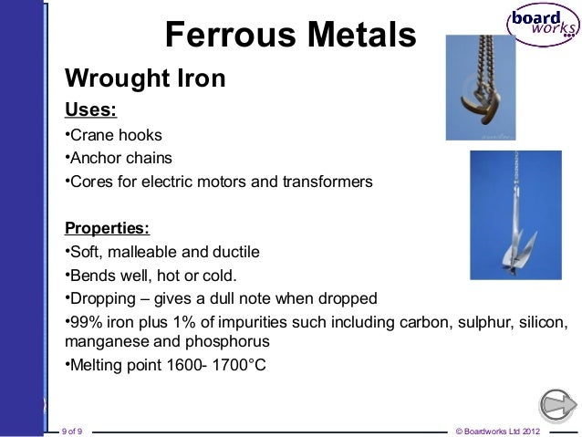 ferrous and non ferrous alloys The metallurgy field gets great benefit from the recycled ferrous and non-ferrous metals the scrap metals are often integral to the formation of new metals.