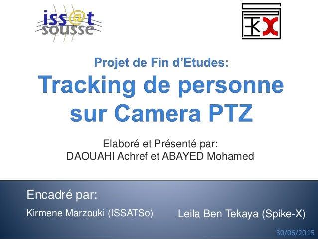 Elaboré et Présenté par: DAOUAHI Achref et ABAYED Mohamed Kirmene Marzouki (ISSATSo) 30/06/2015 Leila Ben Tekaya (Spike-X)...