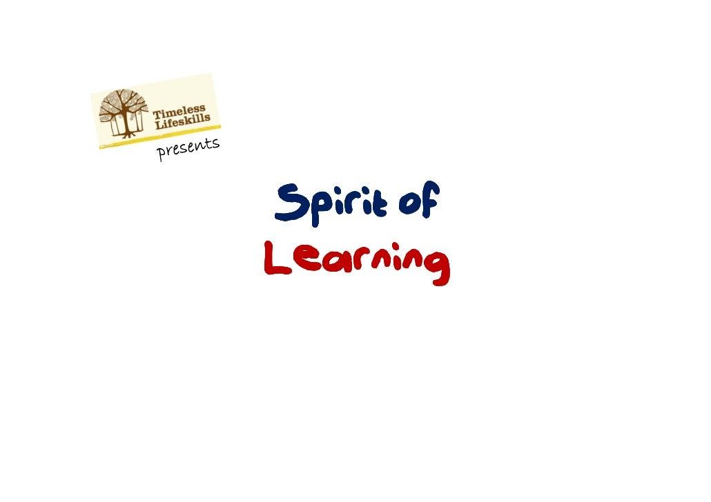 Spirit ofLearning