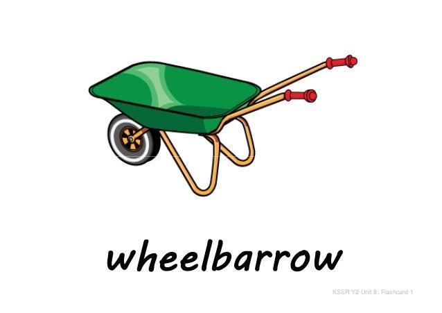 wheelbarrow KSSR Y2 Unit 8: Flashcard 1