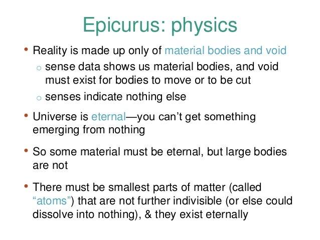 epicurus the good life
