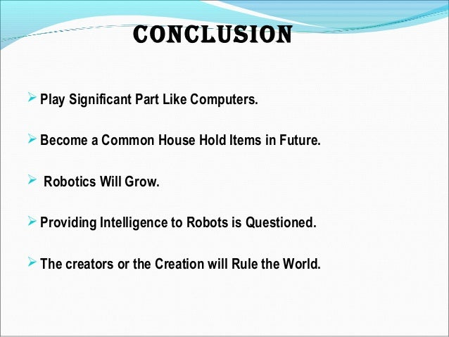 robotics in military applications ppt