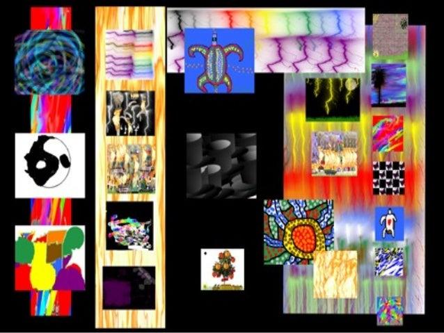 Greta Public School Art Project Year Four-Five Artworks