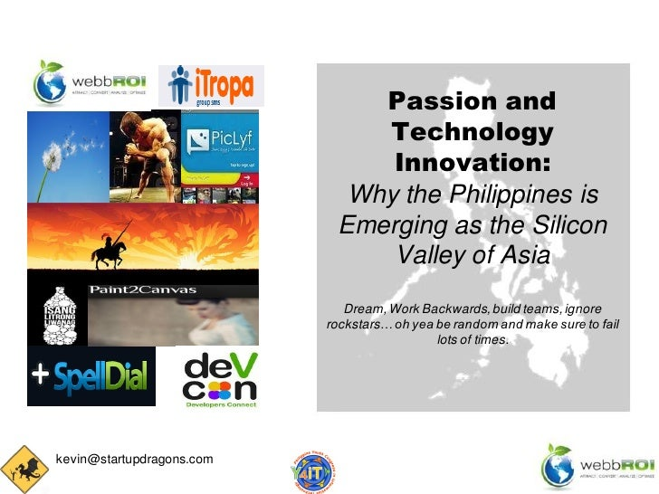 Passion and                               Technology                                Innovation:                           ...