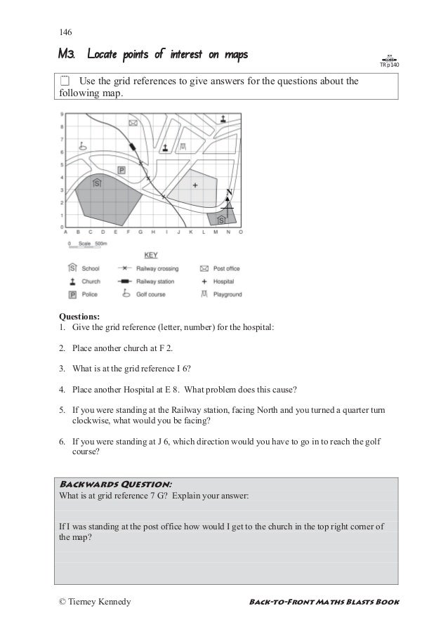 Grid reference worksheet – Grid Worksheets