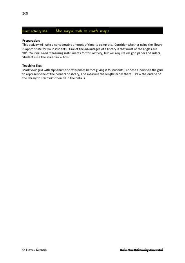 Grid reference worksheet
