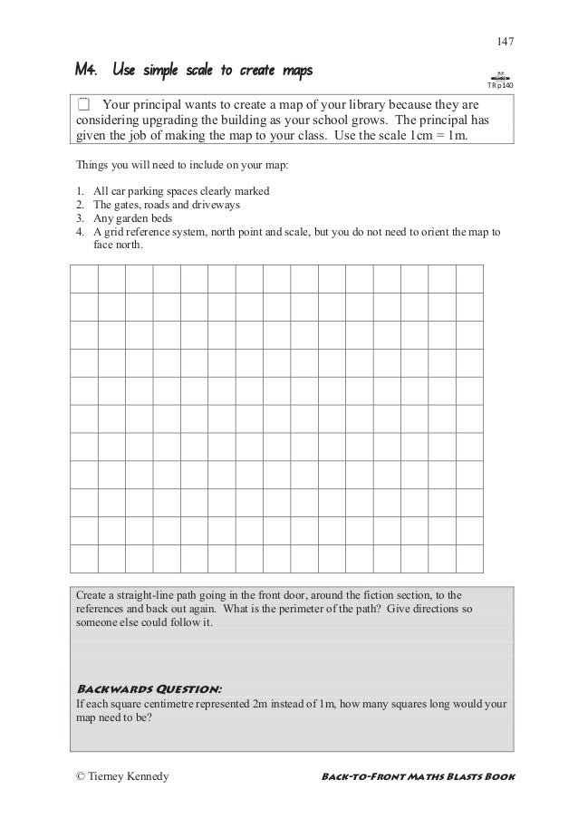 Grid reference worksheet