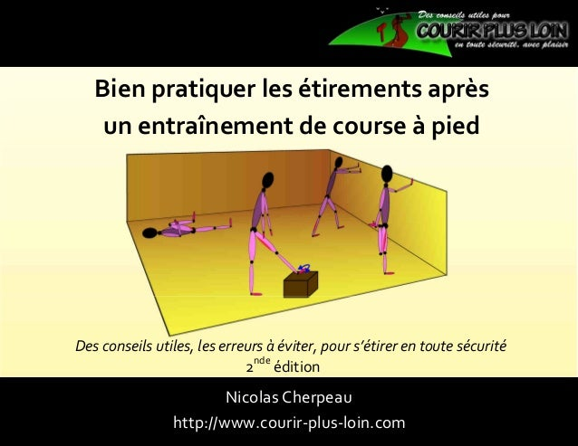 guide etirements courir plus loin 2nde edition. Black Bedroom Furniture Sets. Home Design Ideas