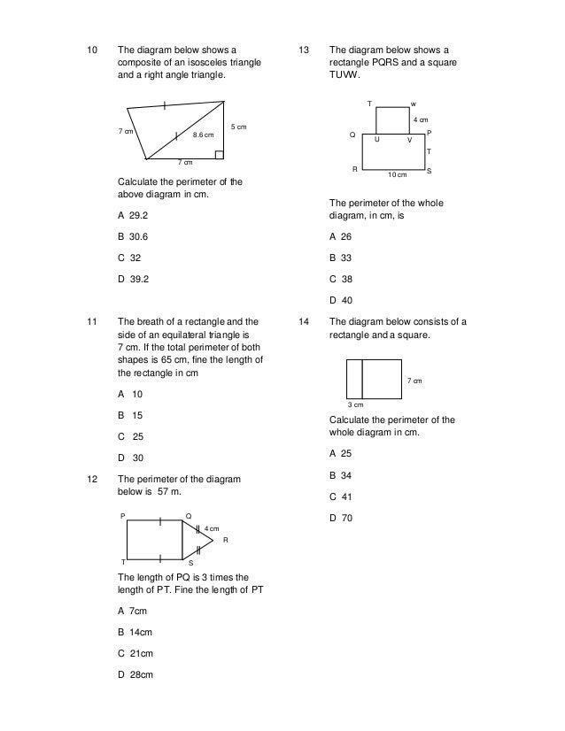 Y6 Topic 10 Shape  U0026 Space