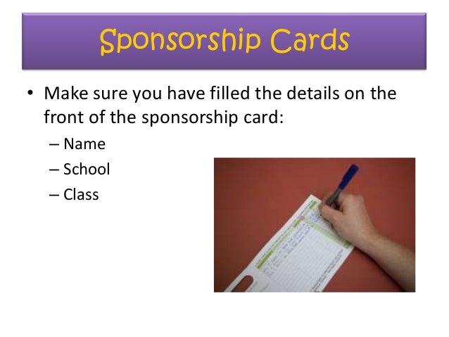 Y7 Readathon How To Take Part – Sponsorship Cards