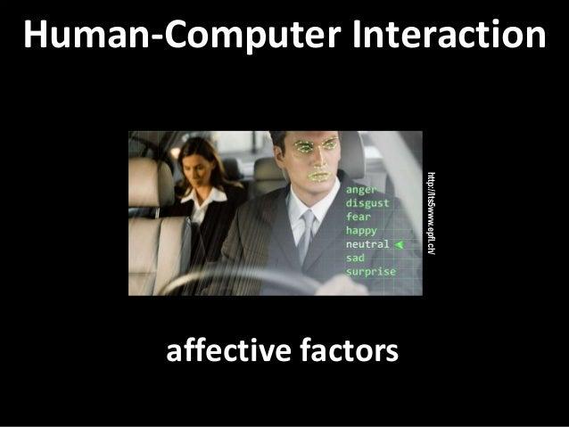 Master on Software Engineering :: Human-Computer Interaction Dr. Sabin-Corneliu Buraga – www.purl.org/net/busaco affective...