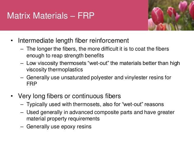 FIBER REINFORCED PLASTICS (FRP)
