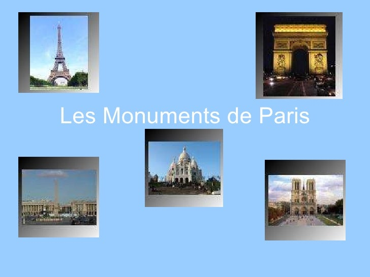 Les Monuments de Paris