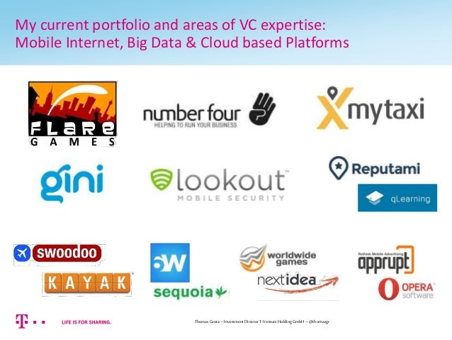 What investors are looking for...   A view from a Venture Capitalist Slide 3