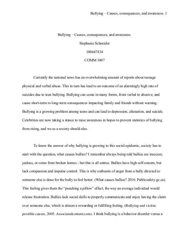 Formal - APA Writing Sample