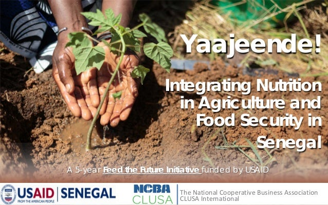 Integrating Nutrition in Agriculture and Food Security in Senegal A 5-year Feed the Future Initiative funded by USAID Yaaj...