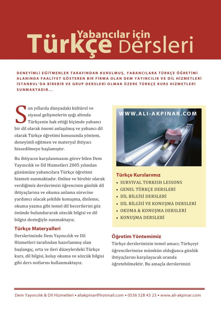Turkish Vocabulary Book for Beginners - Ali Akpinar