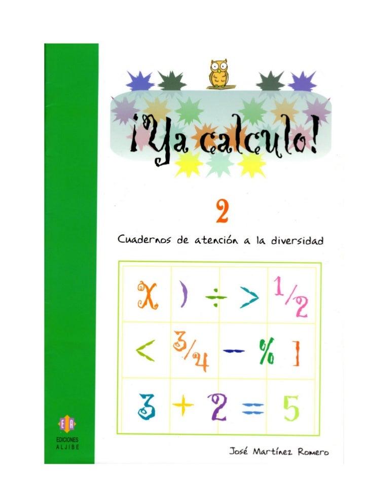 Ya calculo 2