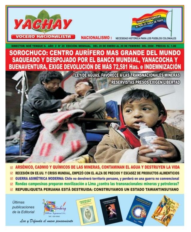 VOCERO NACIONALISTAEditorialCocalero: siembra más coca, para industrializarla, ¡consúmela para defenderla!2MensuarioDirect...