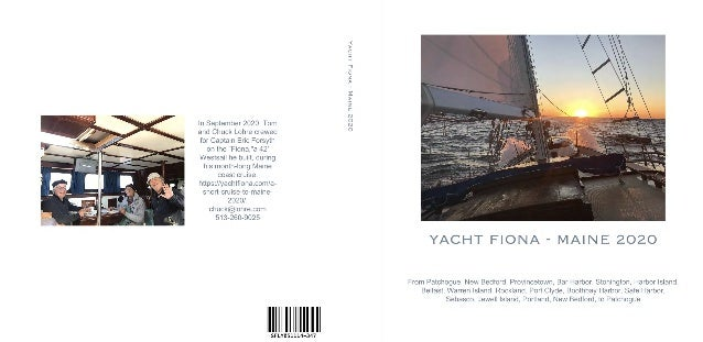 Yacht Fiona  - Maine 2020