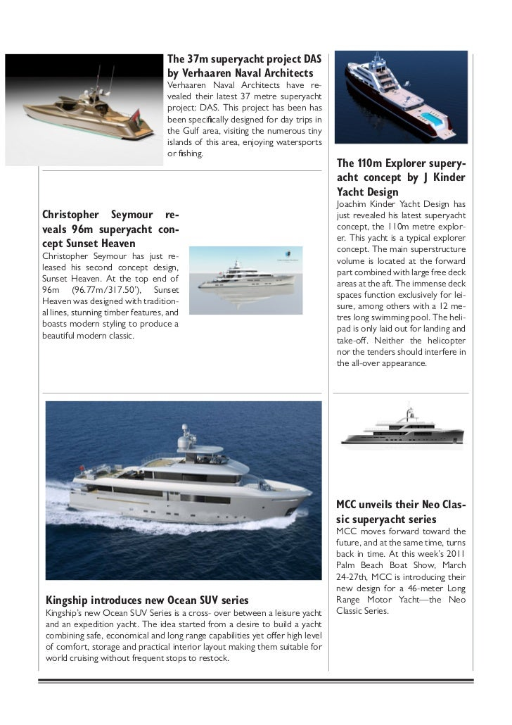 Yachting vg Magazine - Luxury Yacht Brokerage and Yacht