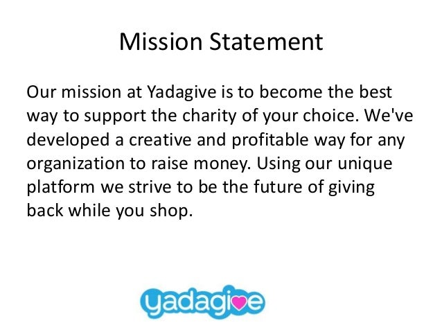Yadagive Business Overview