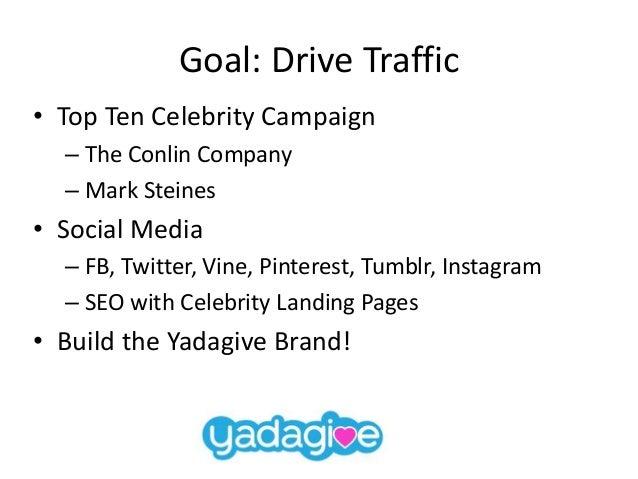 Yadagive Q3 2014 Marketing Campaign Slide 2