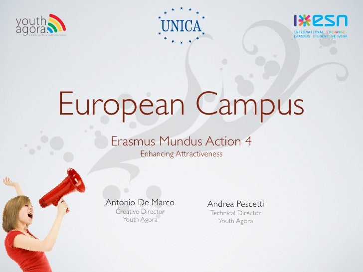 youth agora.   Enhancing online youth information                                 European Campus                         ...