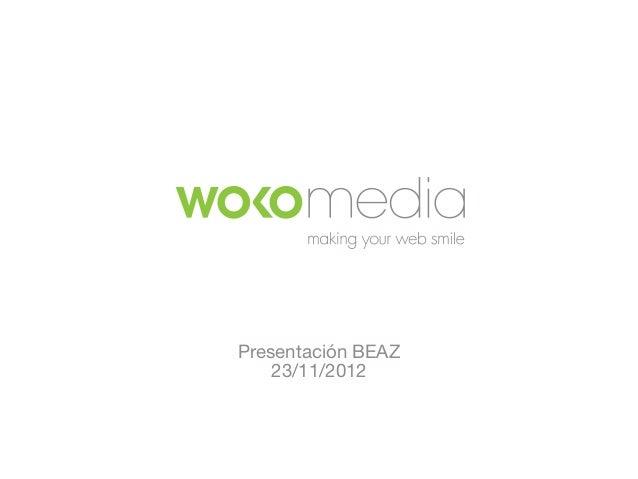 Presentación BEAZ    23/11/2012