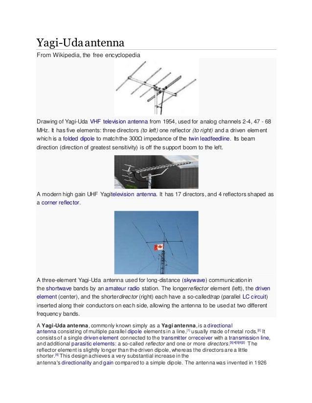 yagi antenna rh slideshare net