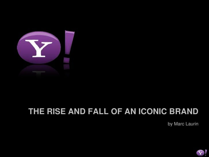 THE RISE AND FALL OF AN ICONIC BRAND<br />by Marc Laurin<br />