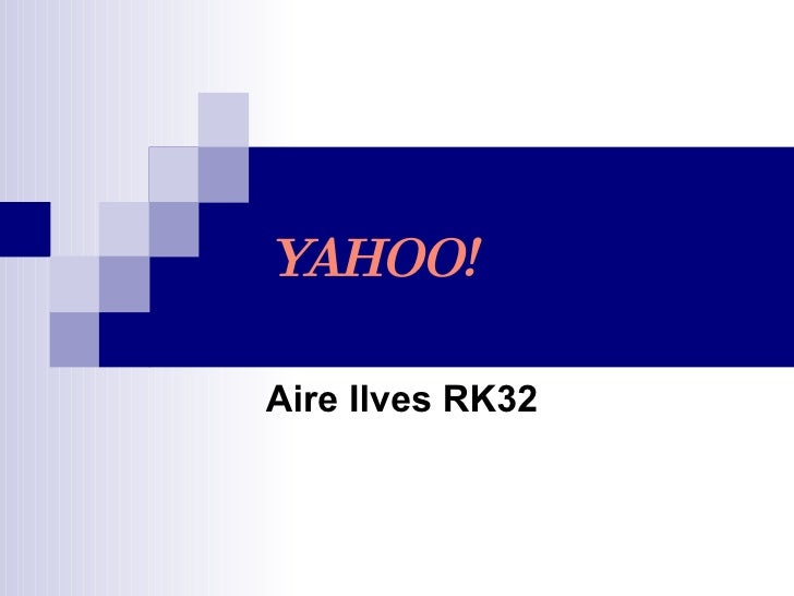 YAHOO! Aire Ilves RK32