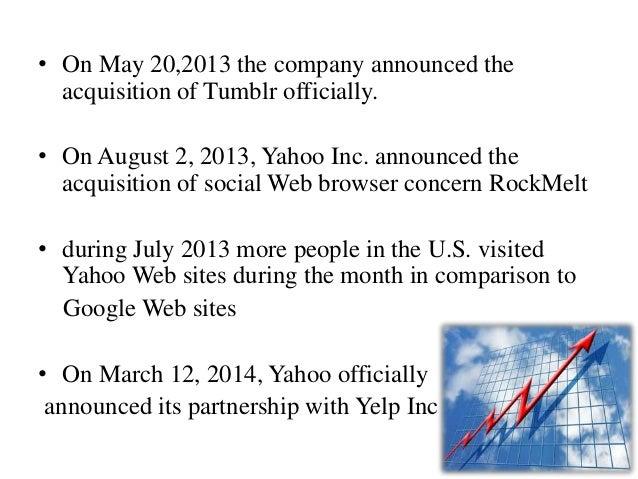 yahoo inc 2009 case study analysis