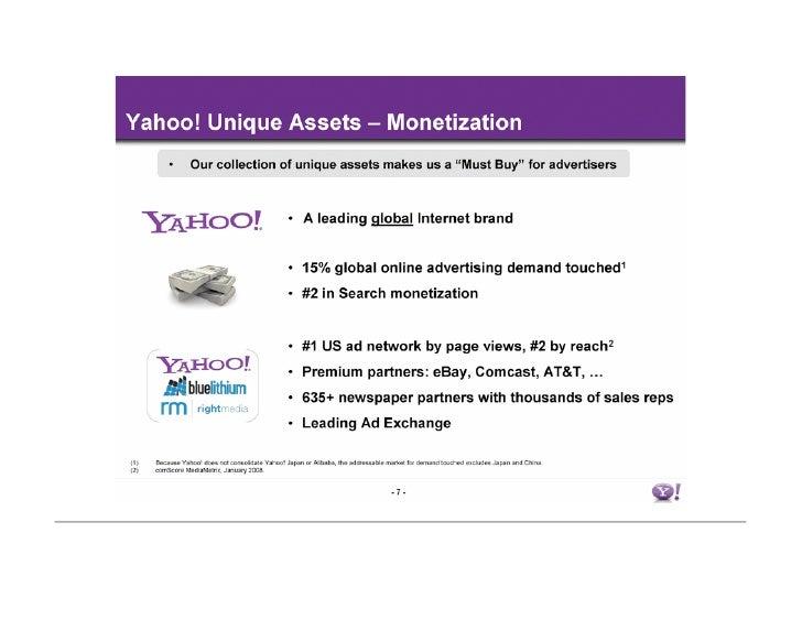 Yahoo!'s Unique Value Proposition Yahoo!
