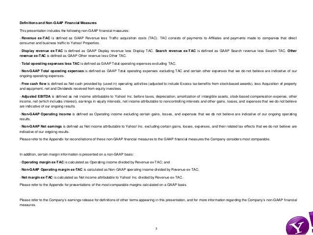 Yahoo! Q4 2012 Quarterly Earnings Slide 3