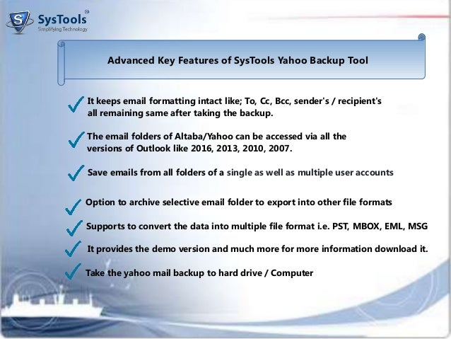 Backup Yahoo Mail to Outlook With a Risk-free Solution