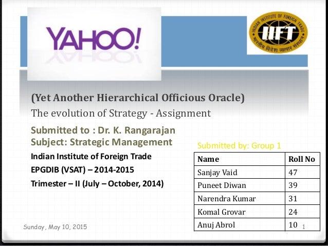 yahoo managing an internet brand pdf