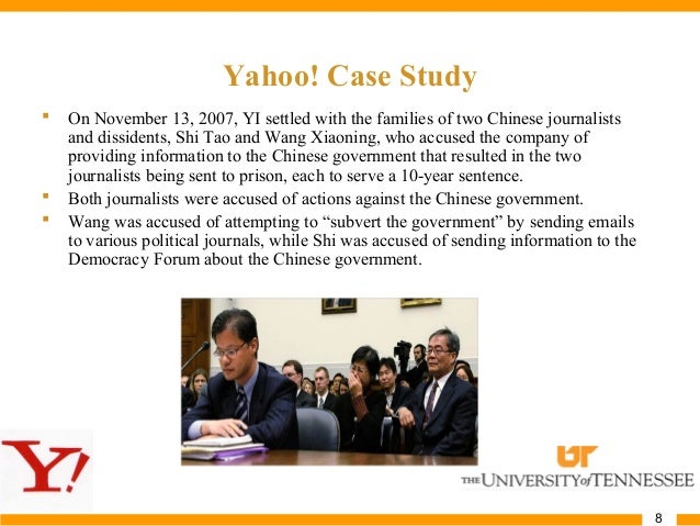 yahoo in china case study summary Nobel prize-winning economist angus deaton and his wife, fellow princeton prof  anne case, share their provocative theory with wsj's jason.