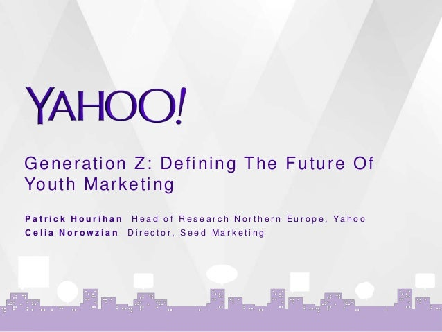 generation z the future of marketing Building a brand for the future: how to target millennials and generation z   change in who we speak to as marketers, salespeople, and brand architects.