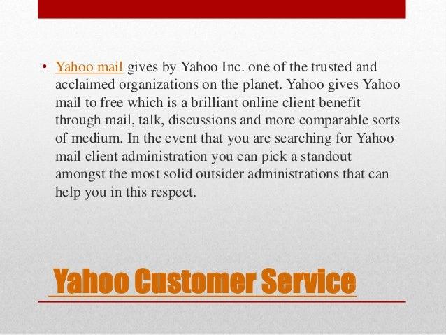Yahoo Customer Service U2022 Yahoo Mail ...