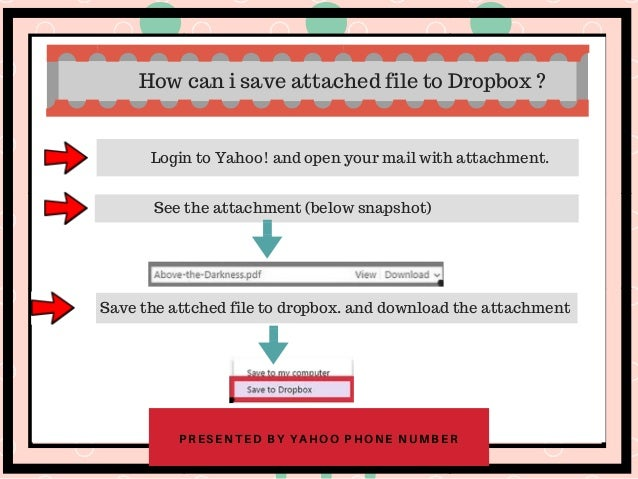 Dropbox in Yahoo mail - Increase the capacity of mail attacment